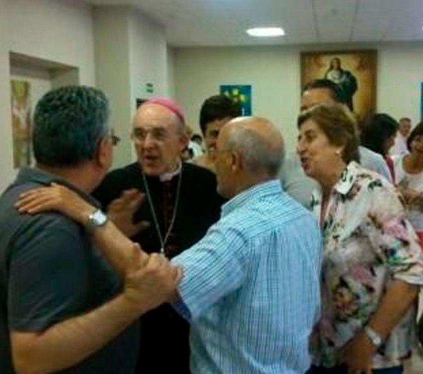 Osoro con los profesionales cristianos de Acción Católica